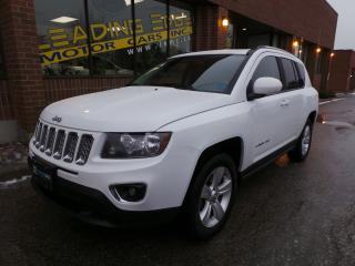 Used 2016 Jeep Compass High Altitude, Leather for sale in Woodbridge, ON