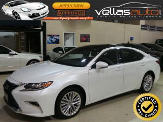 Used 2016 Lexus ES 350 EXECUTIVE PKG| NAVI| PANORAMIC ROOF for sale in Woodbridge, ON