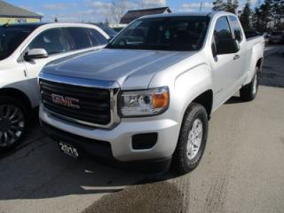Used 2015 GMC Canyon WORK READY SLE MODEL 4 PASSENGER 3.6L - V6.. 4X4.. EXT-CAB.. SHORTY.. AUX/USB INPUT.. BACK-UP CAMERA.. TOW SUPPORT.. for sale in Bradford, ON