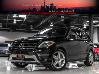 Used 2015 Mercedes-Benz ML 350 DESIGNO|AMG|MASSAGE|BLINDSPOT|BLUETEC|FULLY LOADED for sale in North York, ON