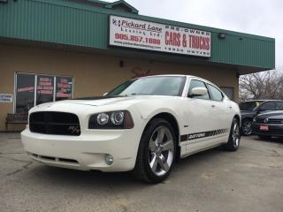 Used 2009 Dodge Charger 368 HP 395 TORQUE!!! RT!!! DAYTONA EDITION!! NAVIGATION!! LEATHER & MORE for sale in Bolton, ON