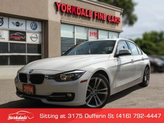 Used 2014 BMW 320i Sport Line. Navigation. White On Red for sale in Toronto, ON