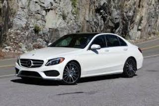 Used 2015 Mercedes-Benz C-Class C400 AMG PANO, NAVI, WHITE ON RED for sale in North York, ON
