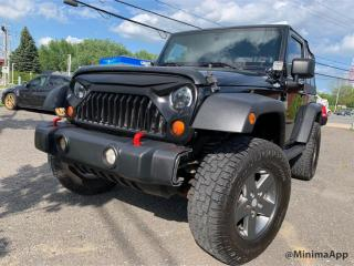 Used 2011 Jeep Wrangler 4 RM 2 portes Rubicon for sale in Drummondville, QC
