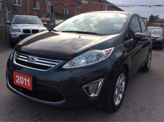 Used 2011 Ford Fiesta SEL/Push-Start/Bluetooth/Leather/Sunroof/Alloys for sale in Scarborough, ON