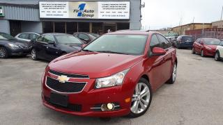 Used 2014 Chevrolet Cruze 2LT RS LEATHER, BACKUP CAM, P-MOON for sale in Etobicoke, ON