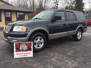Used 2004 Ford Expedition Eddie Bauer for sale in Glencoe, ON