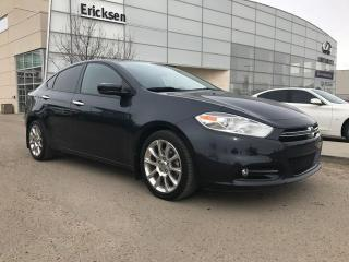Used 2014 Dodge Dart LIMITED/NAVIGATION/BACK UP MONITOR/HEATED SEATS for sale in Edmonton, AB