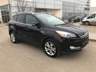 Used 2015 Ford Escape 4WHEEL DRIVE/NAVIGATION/BLIND SPOT/BACK UP CAMERA for sale in Edmonton, AB