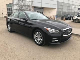Used 2014 Infiniti Q50 PREMIUM NAVIGATION/ALL WHEEL DRIVE/NAVIGATION/HEATED SEATS/BACK UP CAMERA/BOSE AUDIO for sale in Edmonton, AB