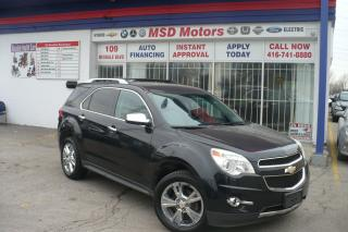 Used 2011 Chevrolet Equinox LTZ leather,roof,alloy,back up camera for sale in Etobicoke, ON