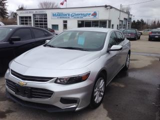 Used 2017 Chevrolet Malibu LT for sale in St Jacobs, ON