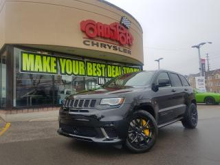 Used 2018 Jeep Grand Cherokee Trackhawk PANO ROOF DVD 707 HORSEPOWER for sale in Scarborough, ON