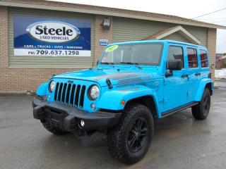Used 2017 Jeep Wrangler SAHAHRA UNLIMITED WINTER EDITION for sale in Corner Brook, NL
