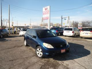 Used 2004 Toyota Matrix MANUAL NEW CLUTCH NO RUST 5 DR A/C SAFETY for sale in Oakville, ON