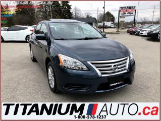 Used 2015 Nissan Sentra SV+GPS+Camera+Sunroof+Heated Seats+Remote Start+XM for sale in London, ON