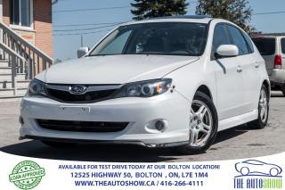 Used 2010 Subaru Impreza 2.5i w/Sport Pkg + NAVI for sale in Caledon, ON
