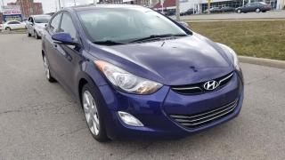 Used 2013 Hyundai Elantra Limited, Leather, Sunroof, Only 128 km for sale in Scarborough, ON