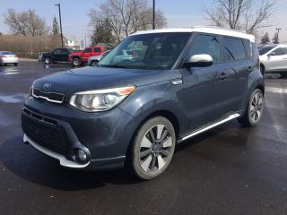Used 2014 Kia SOUL ! * 1 OWNER * LEATHER * REAR CAM * SUNROOF * BLUETOOTH * SAT RADIO SYSTEM for sale in London, ON