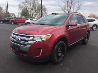 Used 2013 Ford EDGE LIMITED * AWD * LEATHER * NAV * REAR CAM * PANO ROOF * BLUETOOTH * HEATED SEATS for sale in London, ON