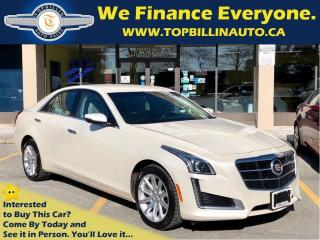Used 2014 Cadillac CTS 4 AWD 2.0L Turbo with NAVIGATION for sale in Vaughan, ON