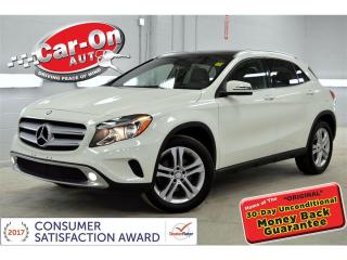 Used 2017 Mercedes-Benz GLA-Class 4MATIC NAVIGATION PANO ROOF HTD SEATS REAR CAM for sale in Ottawa, ON
