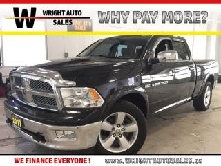 Used 2011 Dodge Ram 1500 Laramie|LEATHER|BLUETOOTH|HEATED SEATS|133,873 KMS for sale in Cambridge, ON