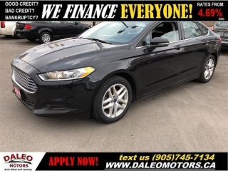 Used 2014 Ford Fusion SE| VOICE COMMAND| BLUETOOTH SIRIUS RADIO for sale in Hamilton, ON