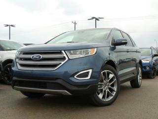 Used 2018 Ford Edge TITANIUM 2.0L I4 ECO 301A for sale in Midland, ON