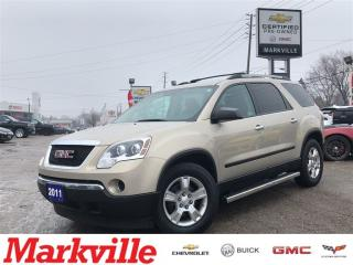 Used 2011 GMC Acadia SLE-NEW TIRES-GM CERTIFIED PRE-OWNED for sale in Markham, ON