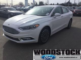 Used 2017 Ford Fusion SE Certified PRE Owned 1.99% OAC FOR 72 MOS for sale in Woodstock, ON