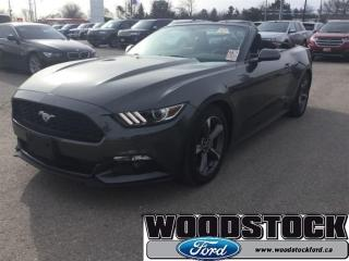 Used 2017 Ford Mustang V6 Reverse Sensing System, 18 Wheels for sale in Woodstock, ON