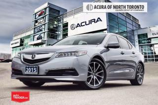 Used 2015 Acura TLX 3.5L SH-AWD w/Tech Pkg Accident Free| Navigation| for sale in Thornhill, ON