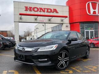Used 2016 Honda Accord Sedan Touring, original roadsport car for sale in Scarborough, ON