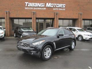 Used 2009 Infiniti FX35 NAVIGATION | 360 CAMERA | DVD | LEATHER | SUNROOF for sale in Mississauga, ON
