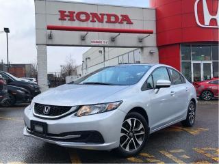 Used 2014 Honda Civic Sedan EX, low mileage, original roadsport car for sale in Scarborough, ON