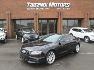 Used 2010 Audi A5 NO ACCIDENTS | QUATTRO | 2.0T | LEATHER | SUNROOF for sale in Mississauga, ON