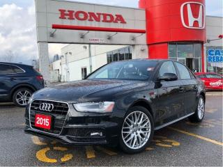 Used 2015 Audi A4 Komfort plus, loaded, priced right for sale in Scarborough, ON