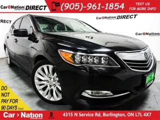 Used 2014 Acura RLX w/Technology Package| NAVI| SUNROOF| for sale in Burlington, ON