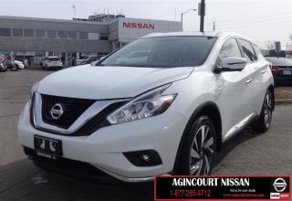Used 2017 Nissan Murano Platinum |NAVI|LEATHER|BLIND SPOT| for sale in Scarborough, ON
