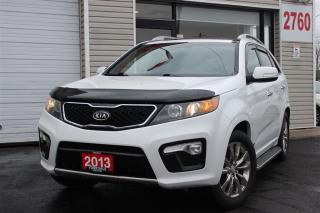 Used 2013 Kia Sorento SX. 7 Passengers. Leather. DVD. Panoramic. Camera for sale in North York, ON