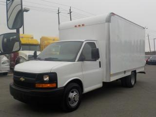 Used 2009 Chevrolet Express 3500 14 foot cube van for sale in Burnaby, BC