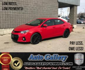 Used 2015 Toyota Corolla S *Htd Seats for sale in Winnipeg, MB