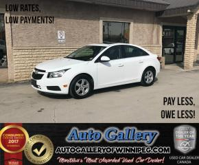 Used 2014 Chevrolet Cruze 2LT *Lthr/B.Cam for sale in Winnipeg, MB