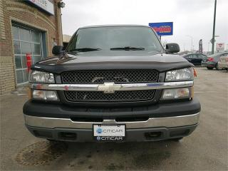 Used 2004 Chevrolet Silverado 1500 LS for sale in Winnipeg, MB