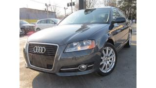 Used 2011 Audi A3 2.0T PREMIUM (S tronic)+77KMS~SUNROOF~AUTOMATIC !! for sale in Burlington, ON