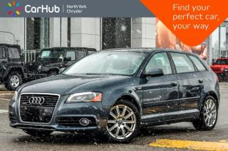 Used 2011 Audi A3 2.0T Premium AWD|Sunroof|Leather|HeatFrntSeats|DualClimateCtrl|17