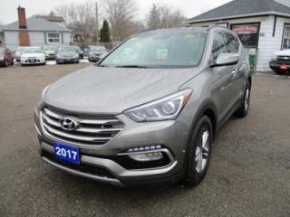 Used 2017 Hyundai Santa Fe LOADED SPORT MODEL 5 PASSENGER 2.4L - 4 CYL.. AWD.. LEATHER.. PANO ROOF.. BLUETOOTH.. HEATED SEATS.. HEATED STEERING WHEEL.. for sale in Bradford, ON