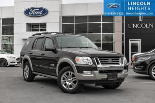 Used 2008 Ford Explorer Eddie Bauer 4.0L 4WD for sale in Ottawa, ON