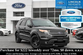 Used 2015 Ford Explorer XLT 4WD for sale in Ottawa, ON